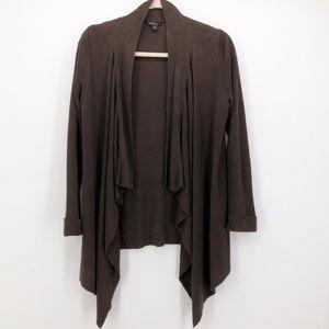 LAFAYETTE 148 Long Sleeve Linen Cardigan Sweater